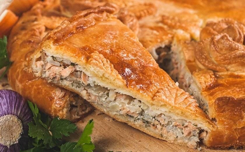 Как приготовить пирог с капустой и рыбой по пошаговому рецепту и фото
