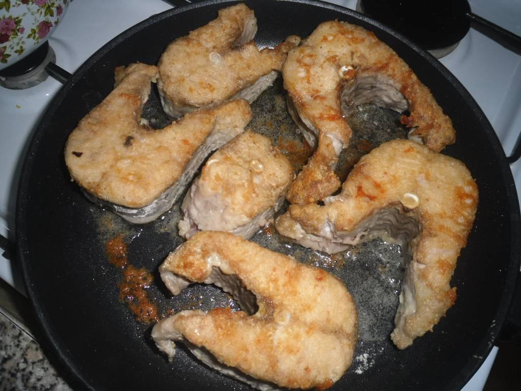 Жареная щука на сковороде по простому пошаговому рецепту с фото