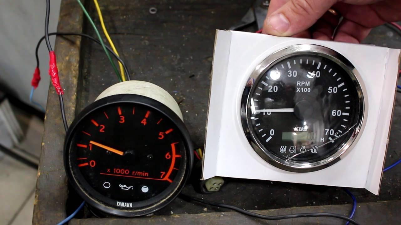 Инструкция по тахометрам для лодочного мотора