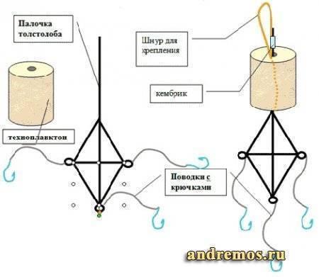 Снасть на толстолобика: описание и схемы уловистых оснасток