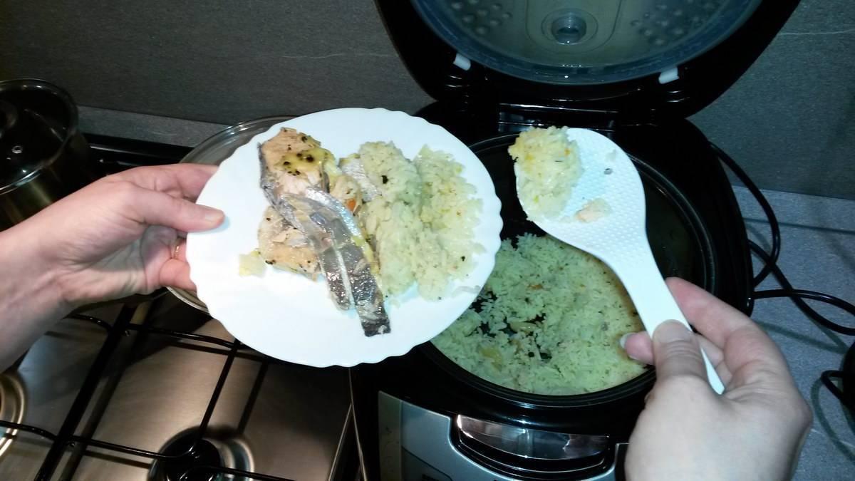Рыба на пару в мультиварке. как сохранить пользу рыбы, приготовив ее в мультиварке