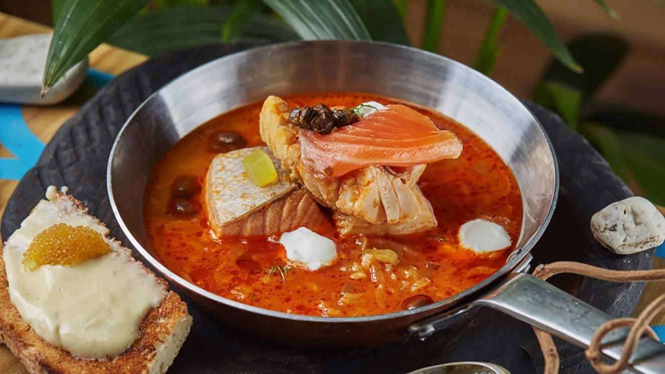 Солянка рыбная сборная – кулинарный рецепт