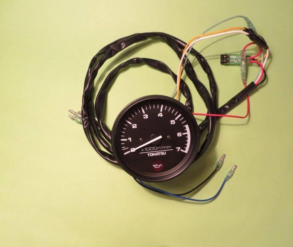 Переделка китайского тахометра для установки на оппозит / блог им. roman_buyan / байкпост