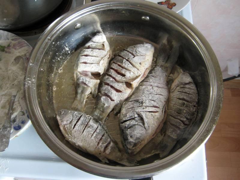 Рецепты приготовления карася без костей