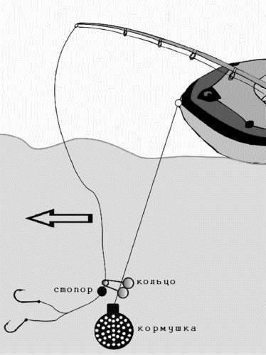 Ловля леща на кольцо с лодки: выбор места для рыбалки и изготовление снастей своими руками