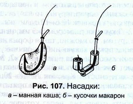 Макароны – клёвая рыболовная насадка