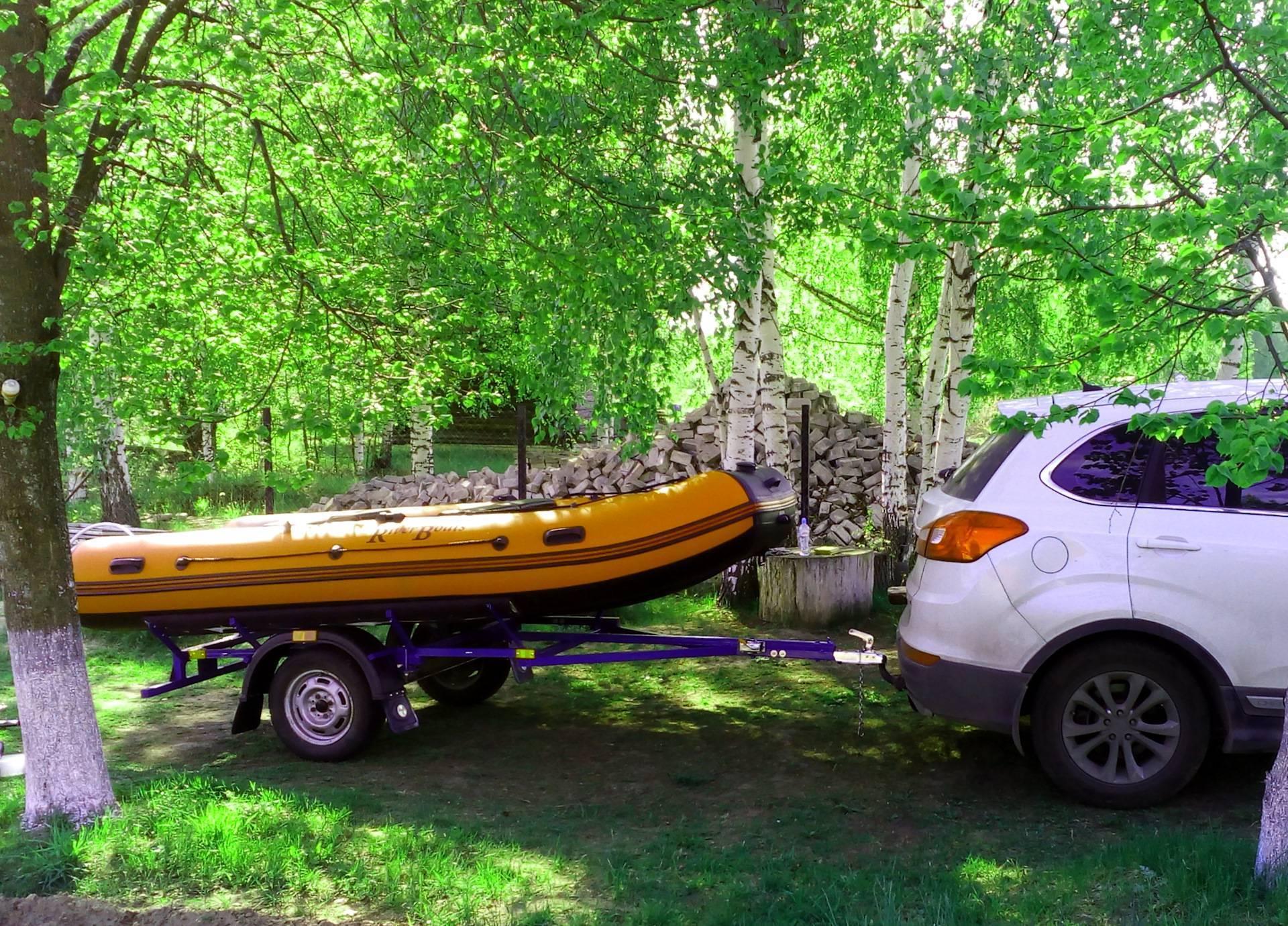 Прицеп для лодки своими руками: как сделать, переделка прицепа