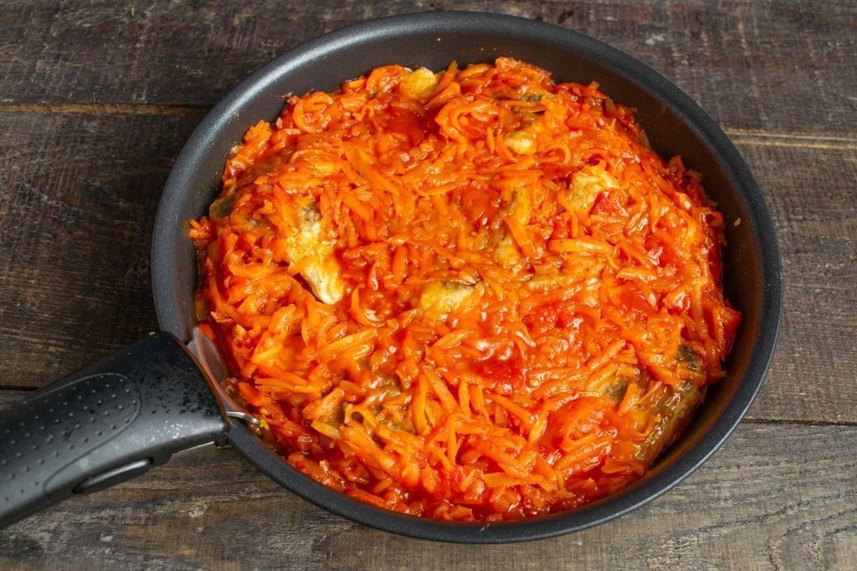 Минтай под маринадом из моркови и лука: пошаговый рецепт с фото, как приготовить