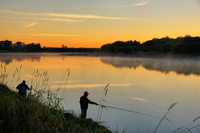 Рыбалка втихую осеннюю ночь