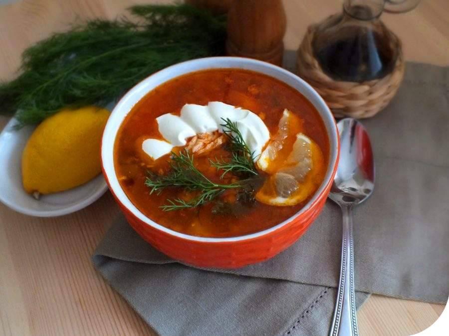 Классическая рыбная солянка - рецепт с фото пошаговый