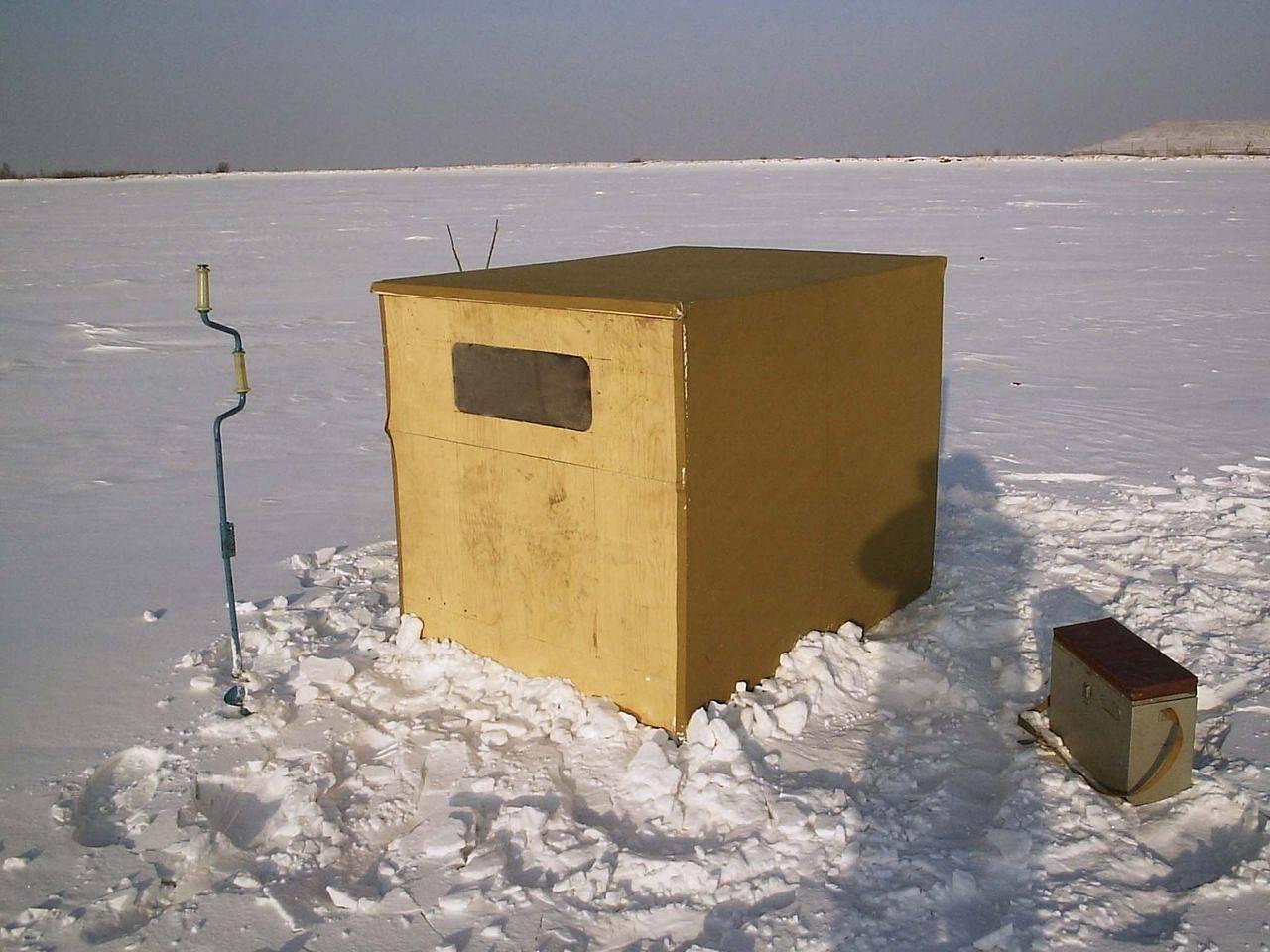 Зимняя палатка для рыбалки своими руками: пошаговая инструкция с чертежами по изготовлению домика