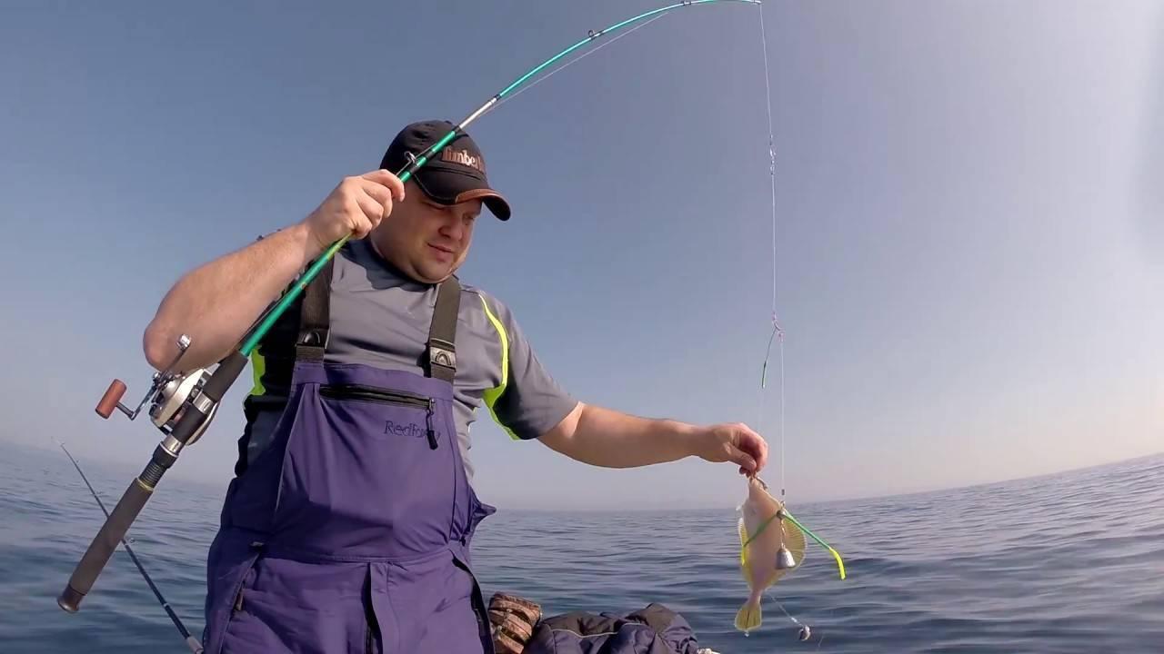 Ловля камбалы - снасти, советы рыболовам