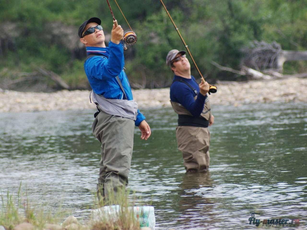 На реку с нахлыстом. разбираемся в тонкостях рыбалки