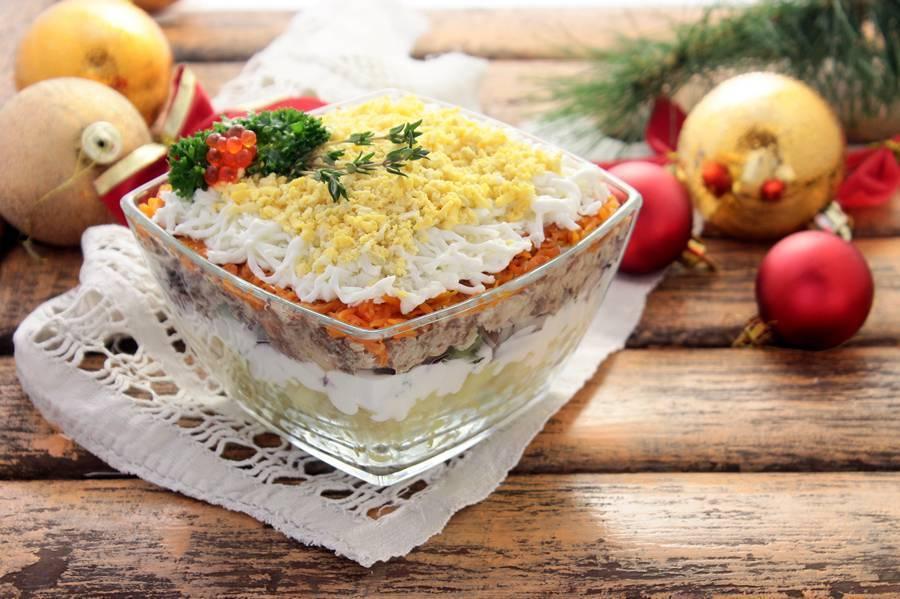 Рыбные салаты - рецепты