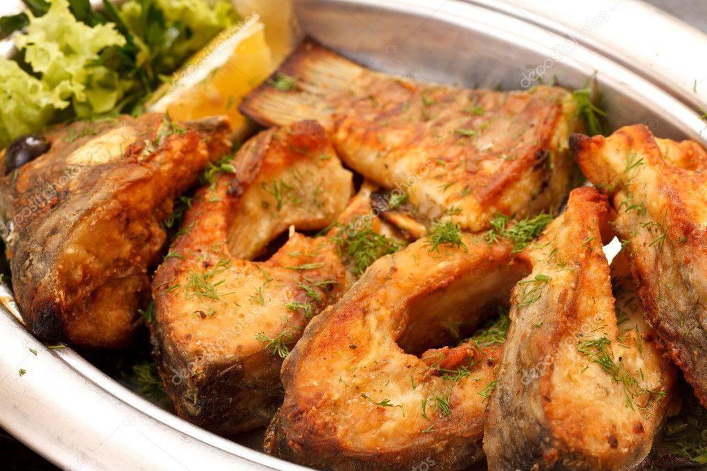 Жареная щука на сковороде – 5 вкусных рецепта