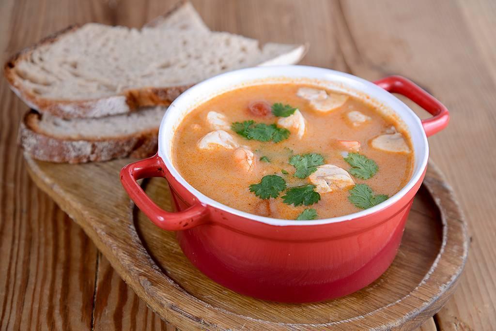 Готовим французское лакомство - суп из раков