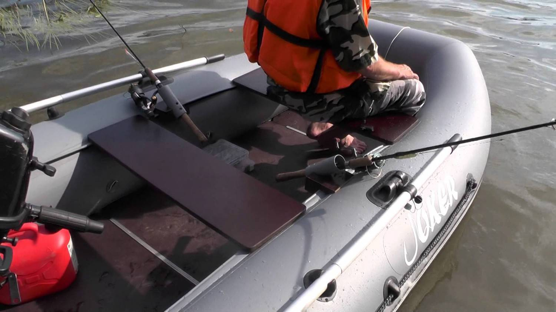 Учимся тюнинговать лодку пвх