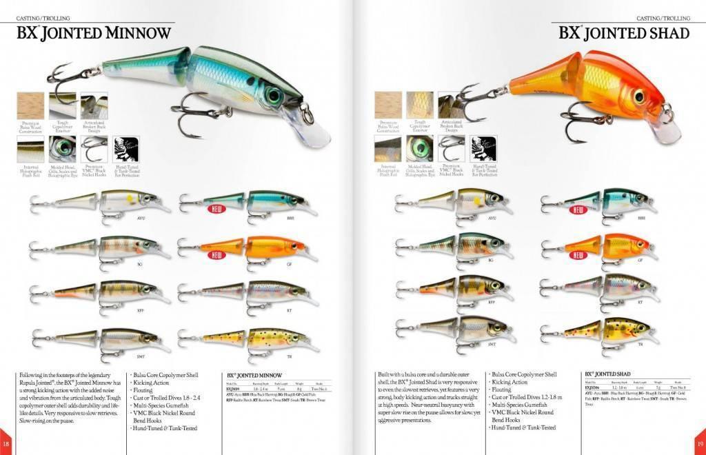 Лучшие модели воблеров для троллинга на судака, сома и щуку