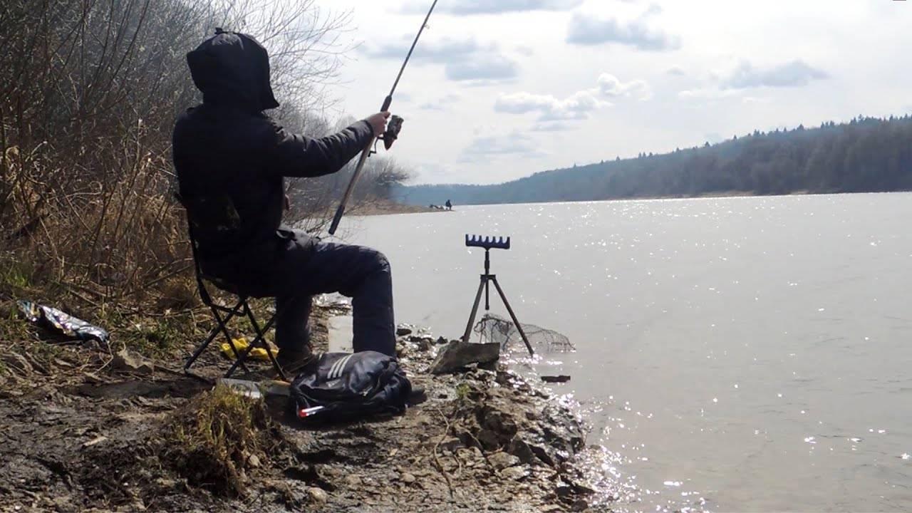 Как ловить леща весной на фидер