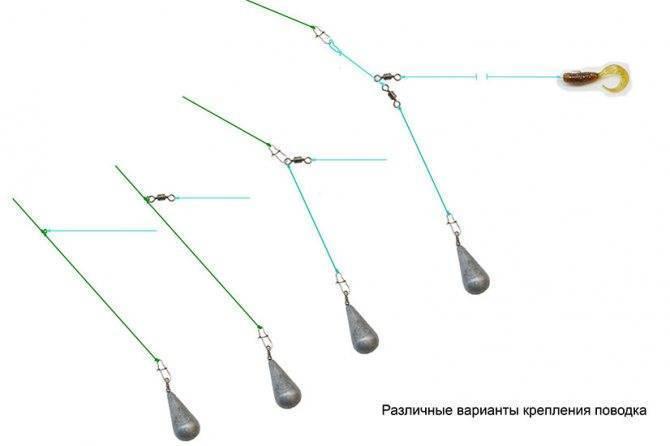 Ловля окуня, судака и щуку на отводной поводок: монтаж и правильная проводка