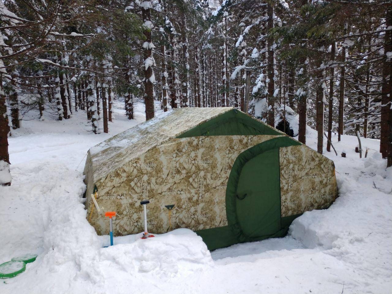 Обогрев палатки зимой – 5 действенных способов [2019]