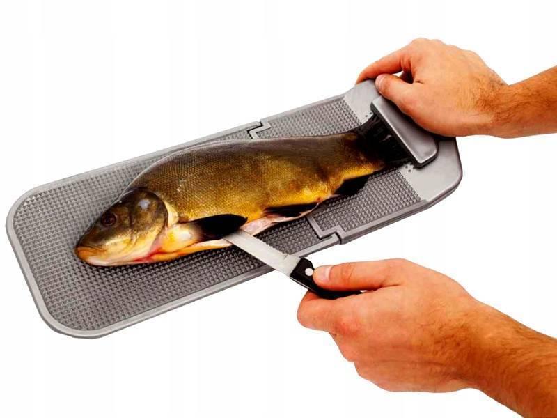 Ножи и другие приспособления для очистки рыбы от чешуи