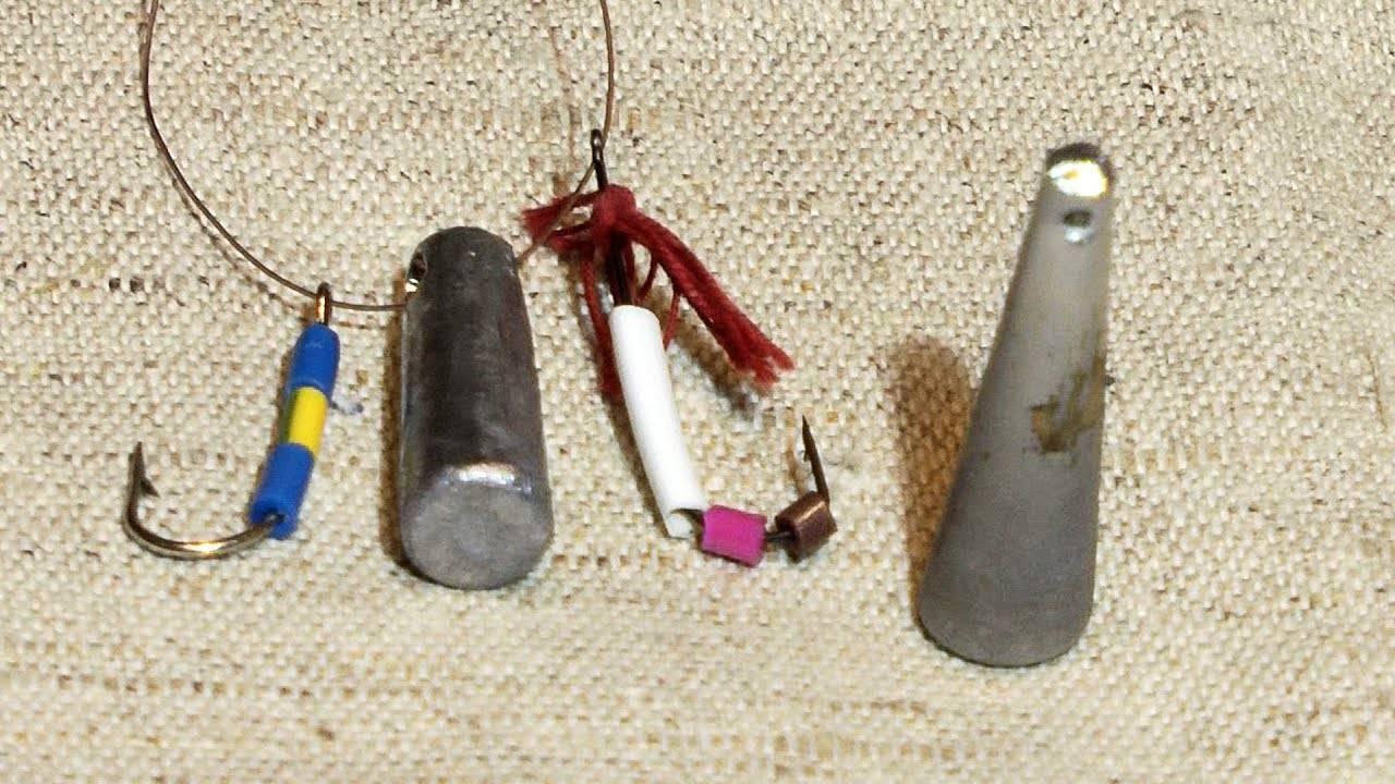 Ловля окуня на балду: приманка своими руками