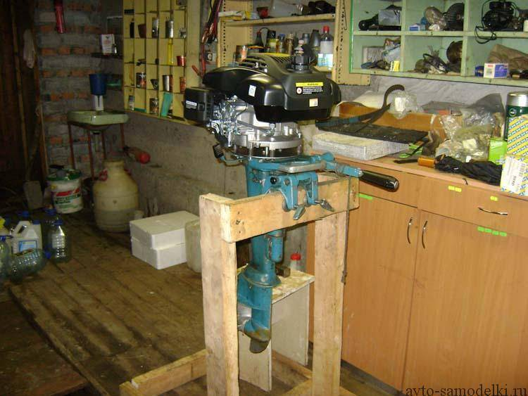 Как сделать ремонт лодочного мотора своими руками?