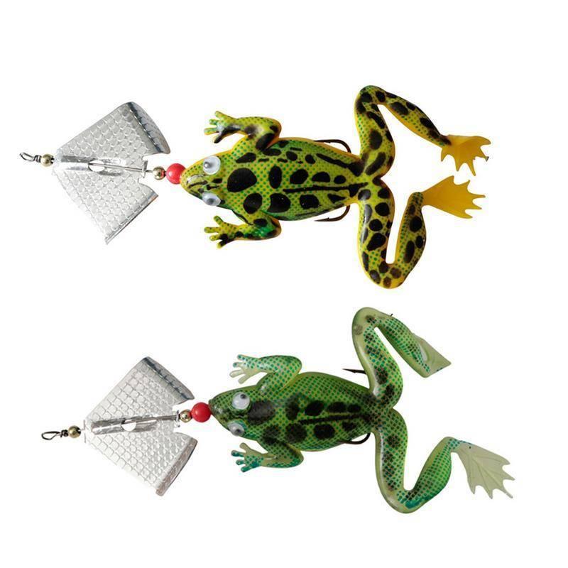 Лягушки искусственные и живые – как на них ловить?