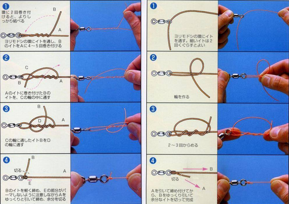 Как привязывать мормышку к леске - с ушком и без, одна и две мормышка: пошаговая инструкция