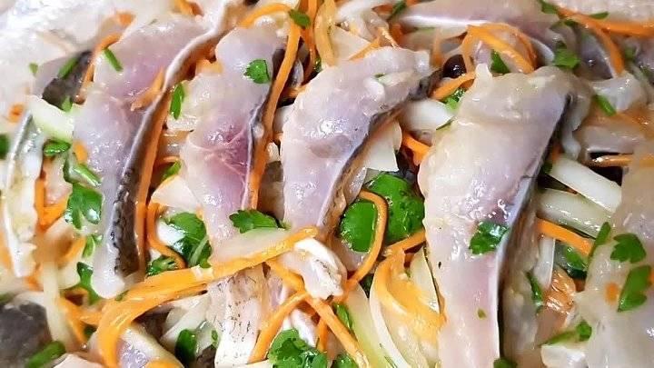 Хе из толстолобика - простой рецепт корейского блюда