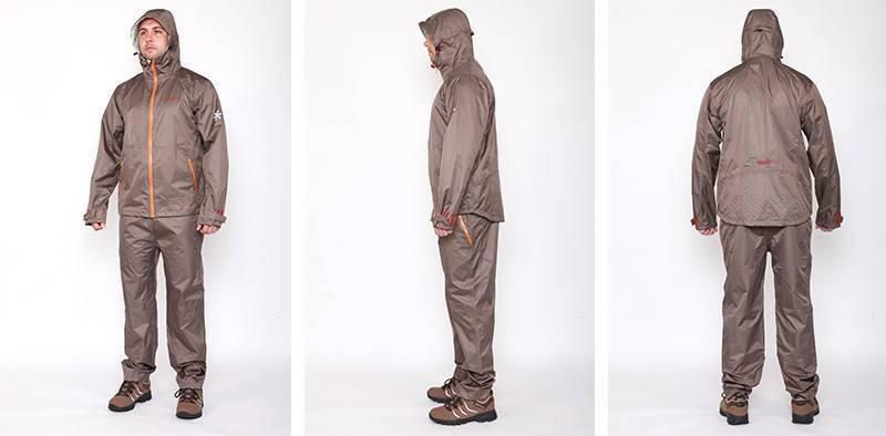 Непромокаемый дышащий костюм для рыбалки: одежда рыболовная типа комбинезон водонепроницаемый