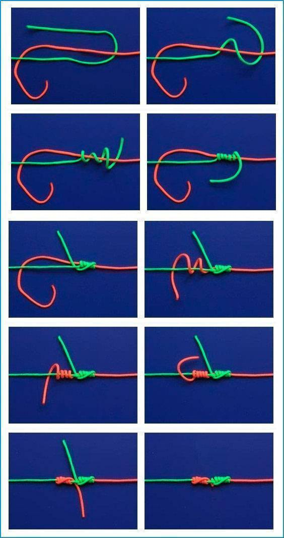 Рыболовные узлы для поводков и крючков: самый крепкий, как вязать