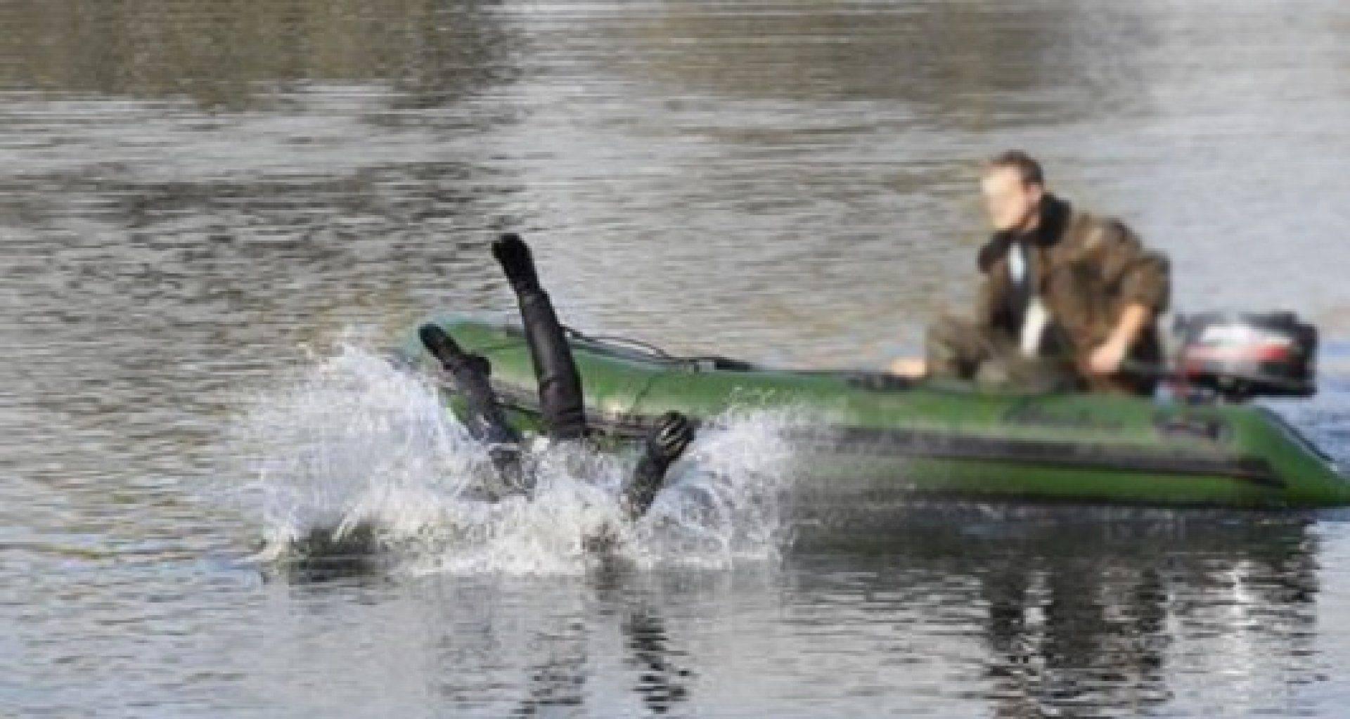 На рыбалке упасть в воду