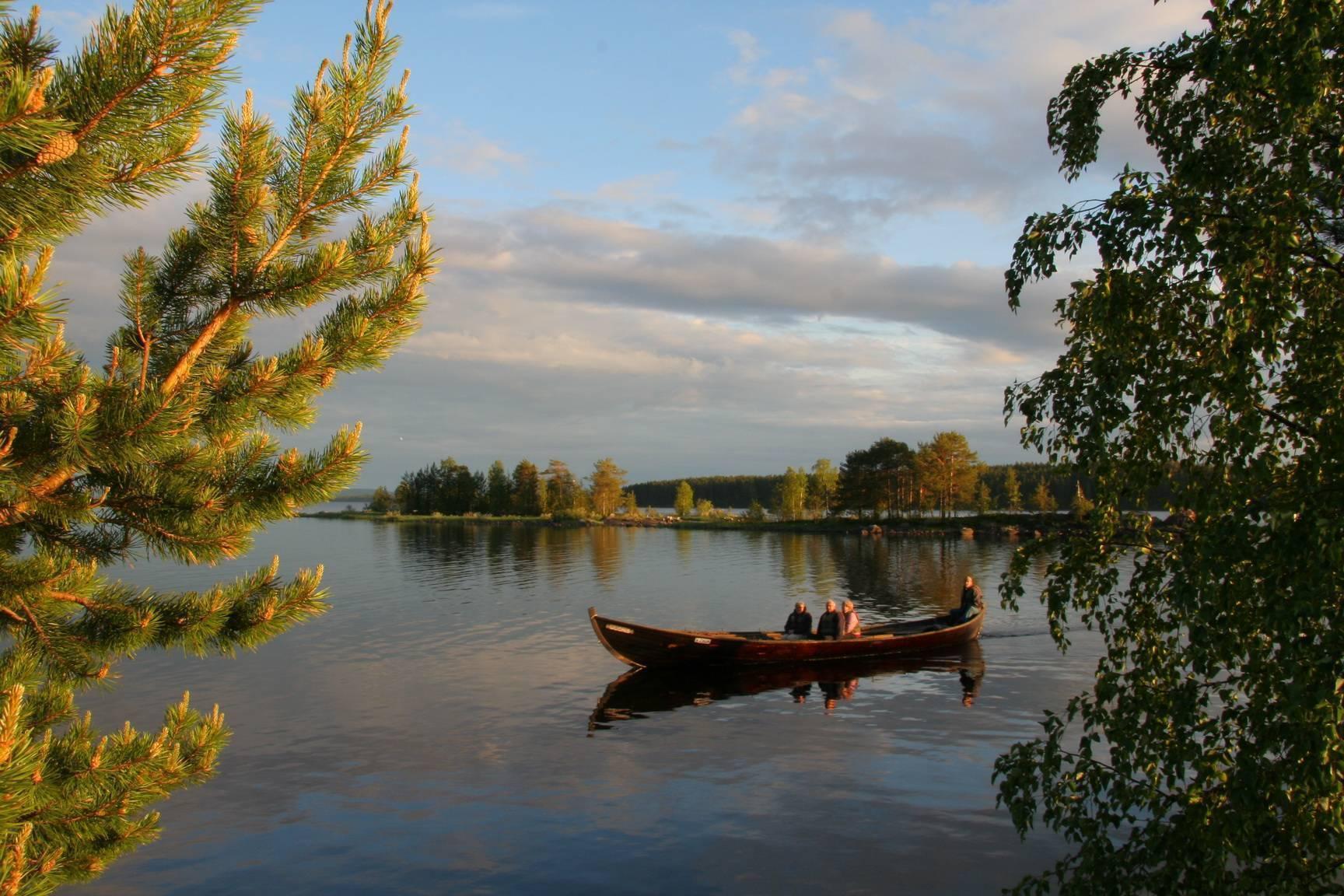 Рыболовные базы на озере вуокса