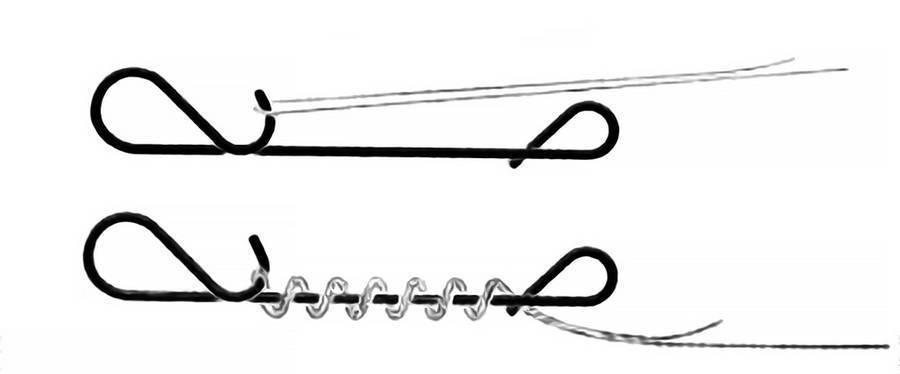 Безузловая застежка для плетенки: область применения, плюсы и минусы