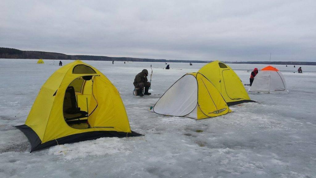 Как установить палатку для зимней рыбалки? | блог uzumeti