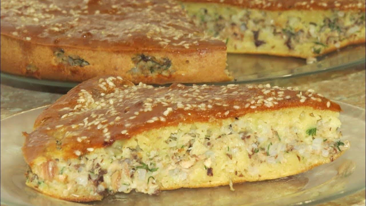 Пирог заливной с картошкой и консервой: пошаговый рецепт - женский сайт. интересные статьи для женщин и девушек - медиаплатформа миртесен