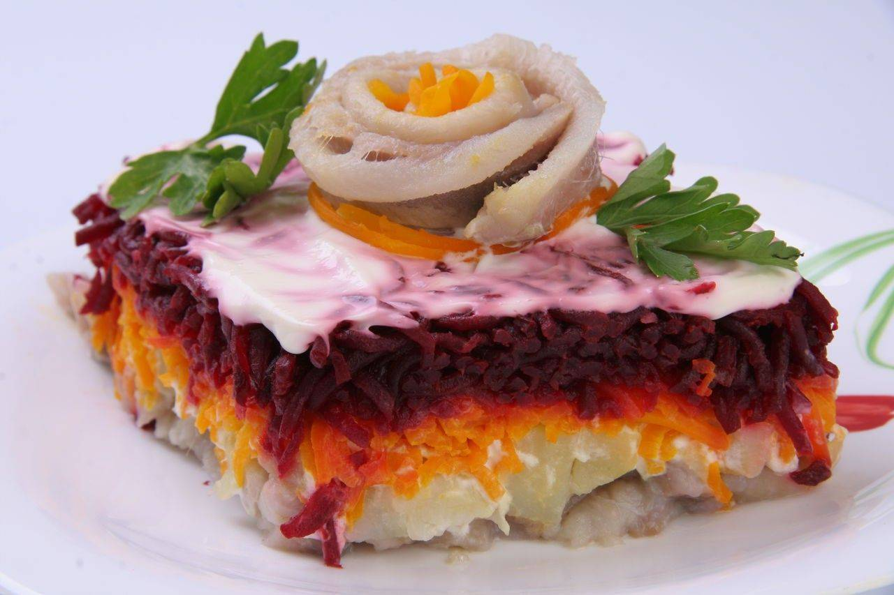 Семга под шубой - лучшие рецепты салата