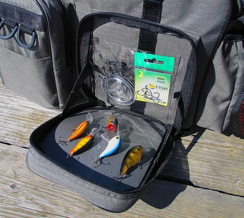 Выбираем сумку для рыбалки