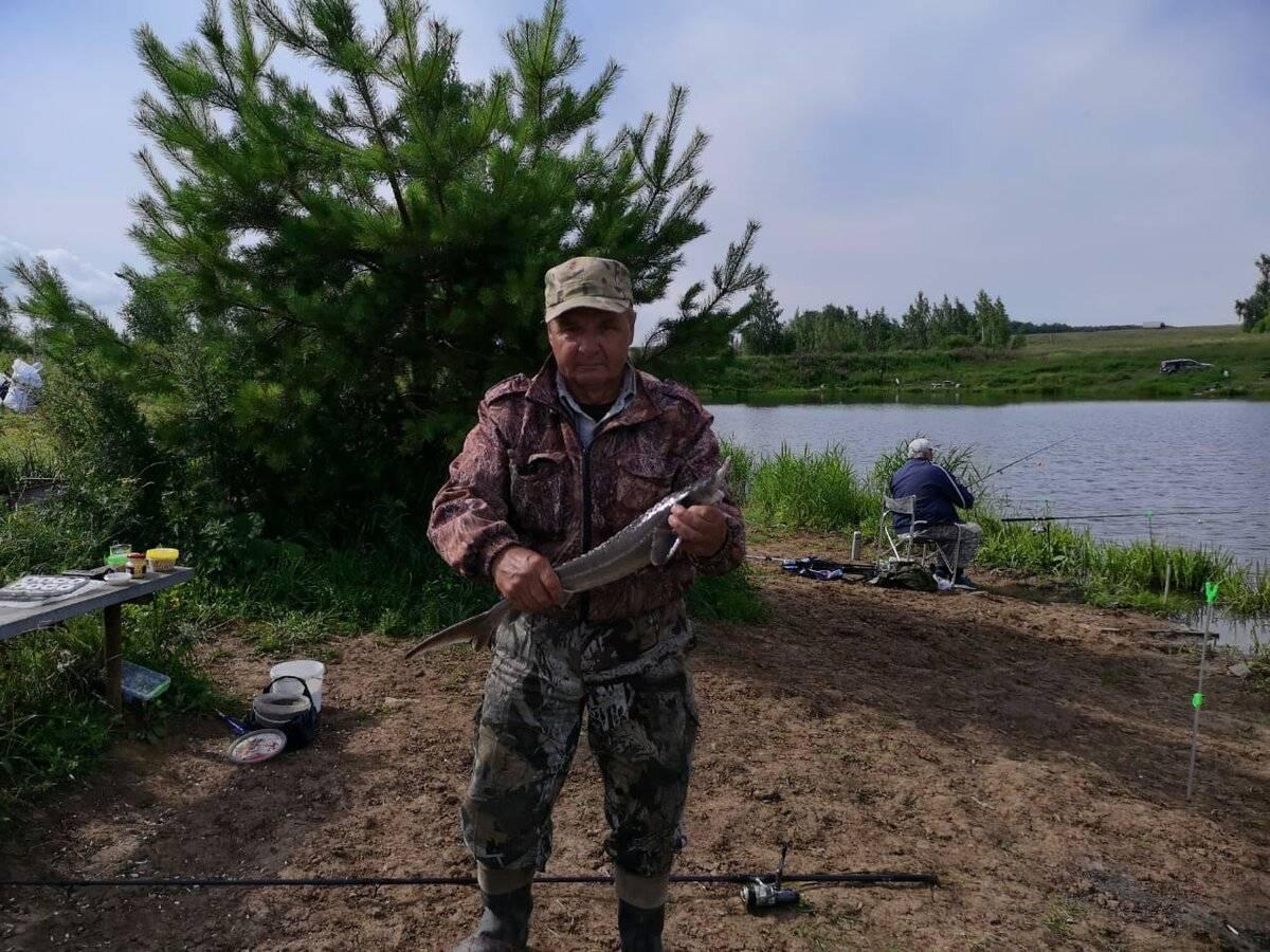 Платная рыбалка в рязанской области