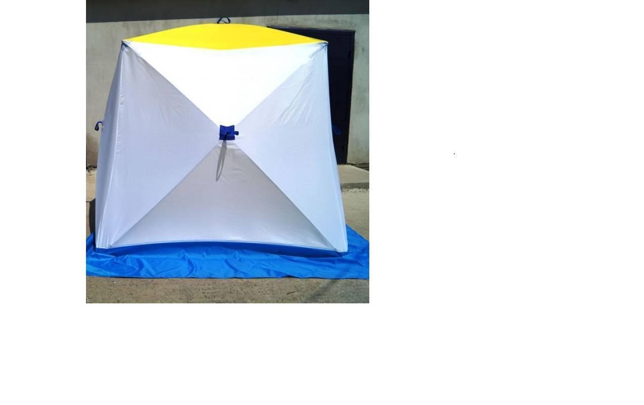 Палатка для зимней рыбалки: как и какую выбрать