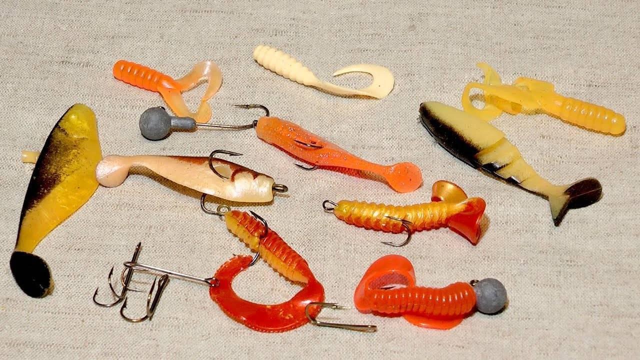 Монтаж силиконовых приманок: разновидности монтажа поэтапно, подбираем крючок для оснастки