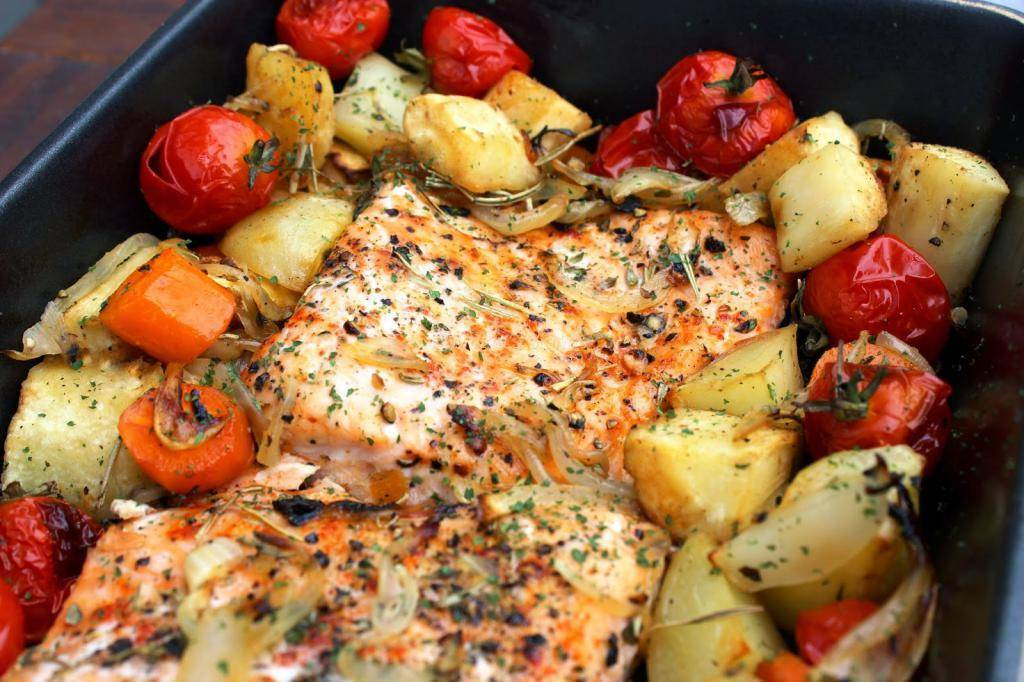 Гарнир к красной рыбе: рецепты и советы по приготовлению