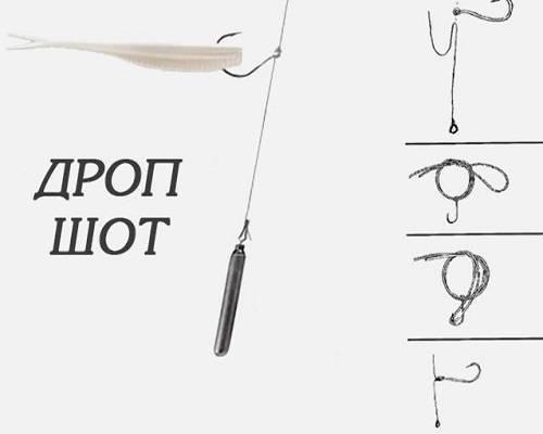 Оснастка дроп шот монтаж: что это, какие элементы включает, плюсы и минусы [2020]