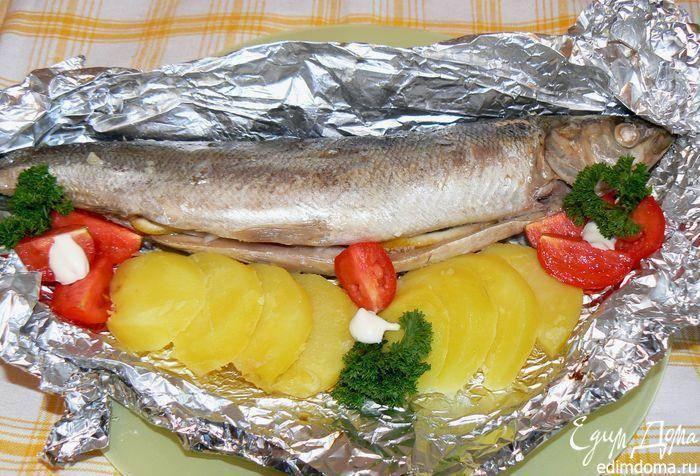 Омуль в духовке в фольге - все про рыбалку