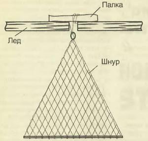 Рыбалка на косынку зимой – как изготовить снасть своими руками, способы привязать к леске, техника вылова