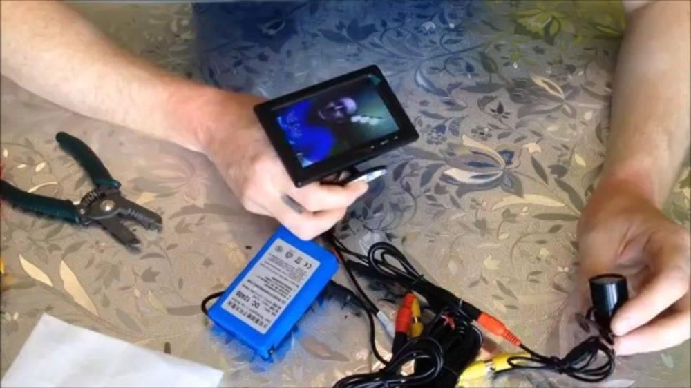 Качественная подводная камера для рыбалки своими руками