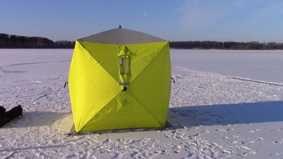 Палатка куб для зимней рыбалки: топ лучших и какую купить