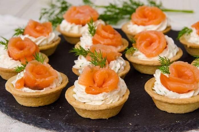 Тарталетки с творожным сыром: пошаговый рецепт с фото
